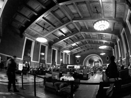 """22:30"" Union Station, LA, CA"