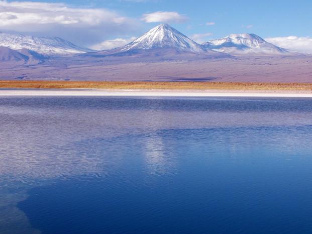 """Laguna Cejar"" Volcán Licancabur, II Región"
