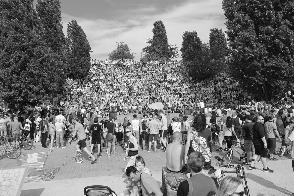 """Musik"" Mauerpark, Berlin"