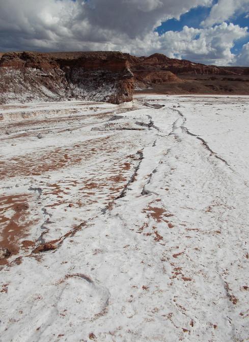 """""""Sal"""" Valle de la luna, II Región"""