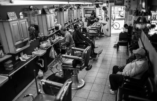"""Danny's Downtown Barbershop"" Tucson, AZ"