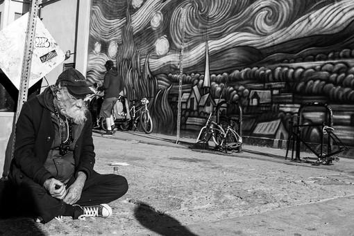 """""""Van Gogh"""" Venice Beach, CA"""