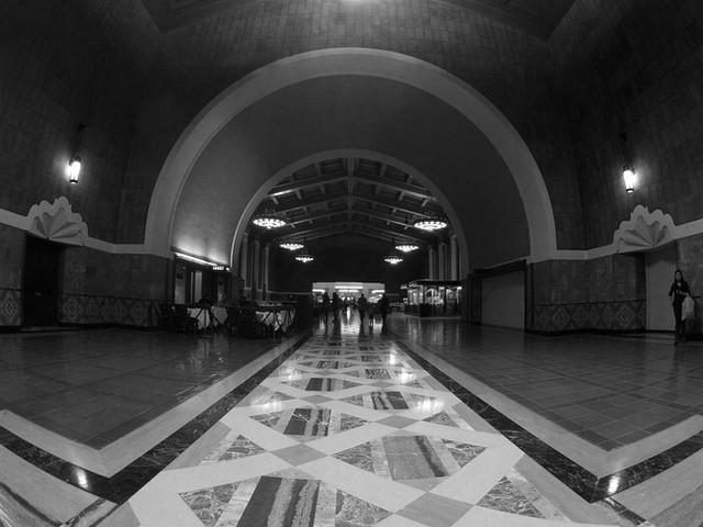 """""""LAUS"""" Union Station, LA, CA"""