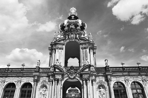 """Zwingler Palace"" Dresden, Germany"