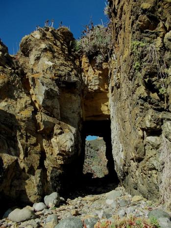 """""""Cmno.cueva del pirata"""" Los Molles, V Región"""