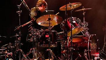 Stuart Slater Playing Live Drums