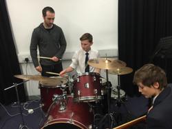 Matt Clements and students (2015)