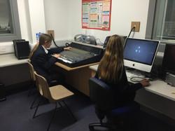 Students in studio class