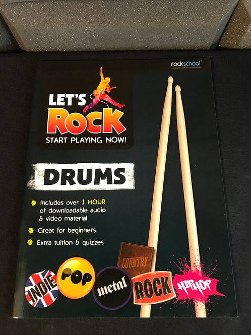 Drums 'Let's Rock' Gradebook.