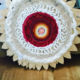 Woven craft on board