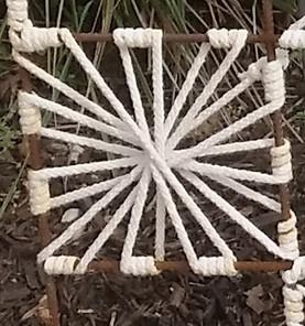 6 Square star woven magic $36 a square f