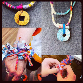 Recycled tshirt Jewellery workshop 1.jpg