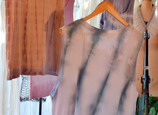 Dyeing FABRICS, could be a shirt that needs a revamp. Bring only natural fibres.