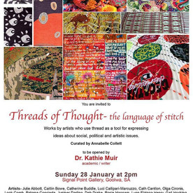 Threads of thought exhibt