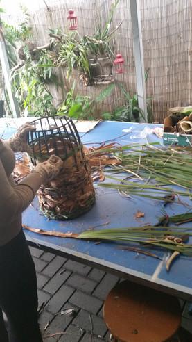Natural Weaving  workshop