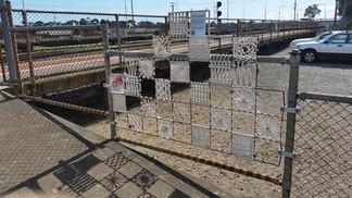Kilburn train station install
