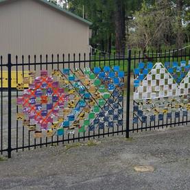 Co design and installation of fenceline