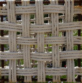 22 three thread open weave. woven magic