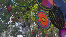 Magic Yarn Bombing Tree