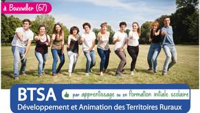 """29/01 : Rendez-vous """"Infos BTSA DATR"""" en visio"""