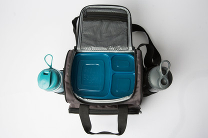 Agile Life Designs Insulated Lunch Bag Overhead View