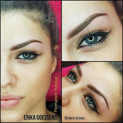 New ombre powderbrows for this beautyful