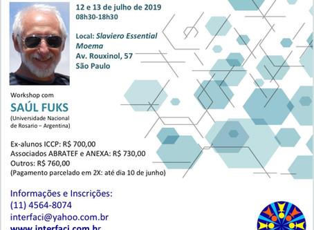 Saul Fuks no Workshop: Conversações transformadoras: desafios do encontro com os outros