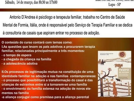 WORKSHOP INTERNACIONAL COM ANTONIO D'ANDREA, MARÇO 2015