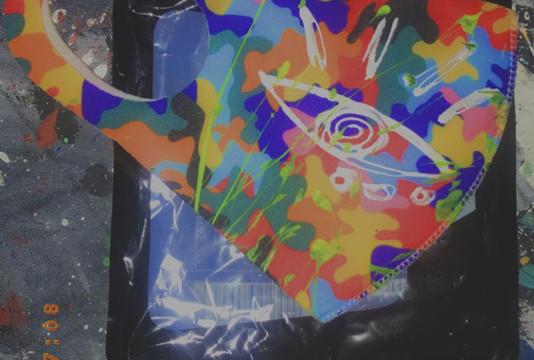 Custom INT Hand Painted Mask