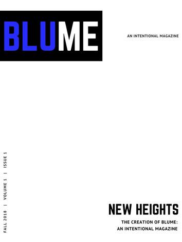 Blank Magazine Cover