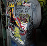 Hatshepsut in Custom Basquiat Intentions