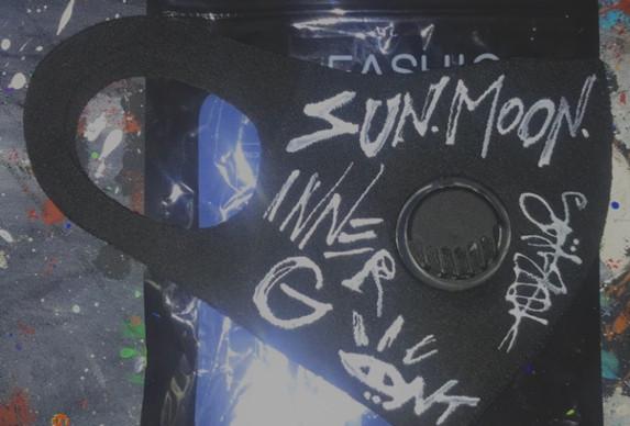 Sun / Moon Inner G Custom Mask