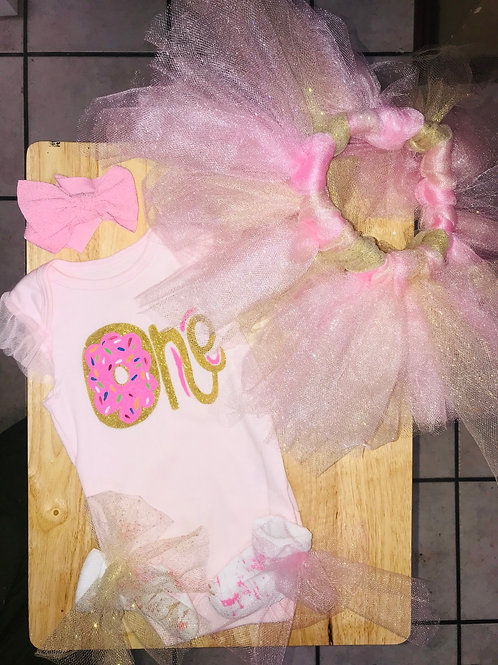 Baby Birthday Set Outfit