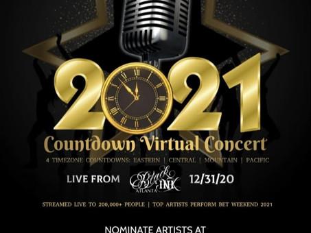 2021 NYE COUNTDOWN VIRTUAL CONCERT