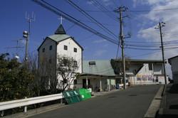 2010年3月 野七里移転前の旧平和台チャペル