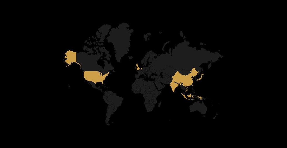 專利資產化足跡遍佈 3 大洲、15 座城市