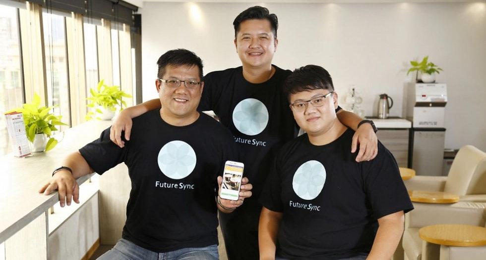 十維度股份有先公司三位創辦人、愛專利母公司、2000萬創業啟動資金