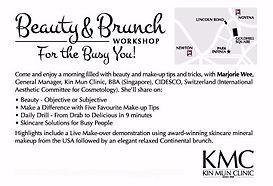 anti-ageing makeup skincare seminar