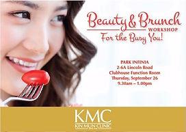 anti-ageing makeup skincare workshop