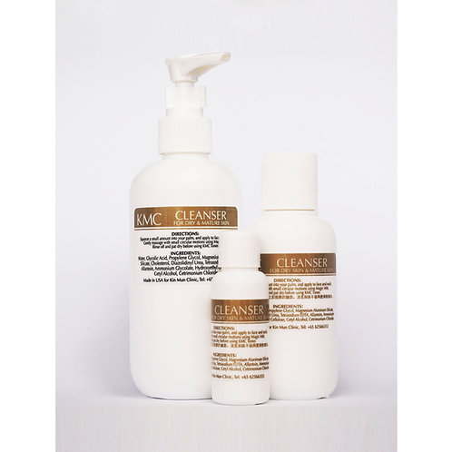 Cleanser for Non-Oily, Mature Skin, Anti-ageing