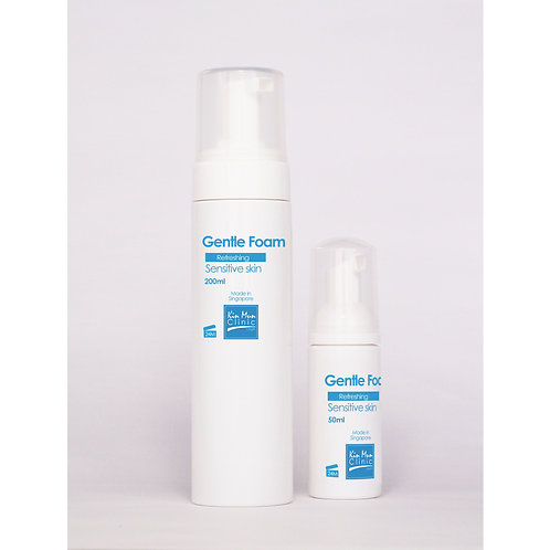 Gentle Foam, for Sensitive/Young, Oily/Combination Skin