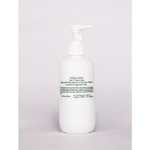 Facial Wash (Nature Green) for Oily, Combination Skin