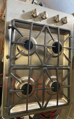 """GE 30"""" Stainless Steel Gas Cook Top $375"""