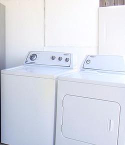 Blue Dials Washer/Dryer Set