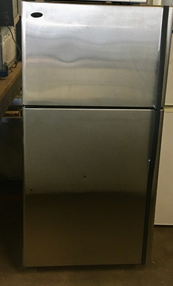 GE Profile Top Mount Stainless Steel Refrigerator $395