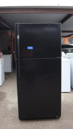 Black Top mount Refrigerators$375