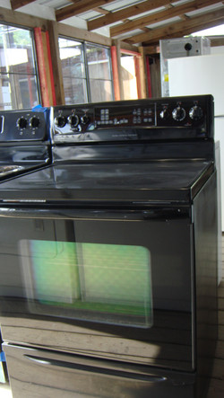 Black Electric Stove $375 Glass Top