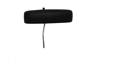 Macaneta Externa Porta Trseira Ld Preta Fiat Idea 06-10