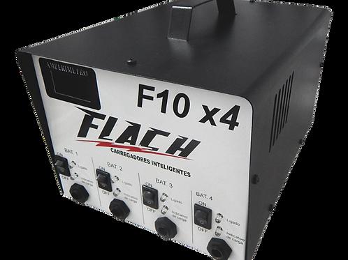 Carregador Inteligente de Bateria (Bivolt) FLACH F10X4 -09546