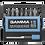 Thumbnail: Kit Bits Ponteiras P/ Parafusadeira Gamma 15 pcs - 09056